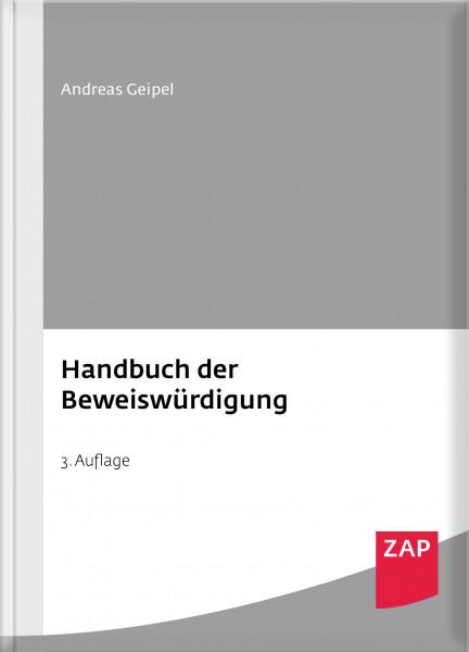 Handbuch der Beweiswürdigung - Mängelexemplar