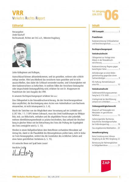 IB VerkehrsRechtsReport