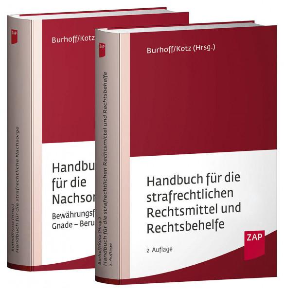 Paket Handbuch für die strafrechtliche Nachsorge und Handbuch für die strafrechtlichen Rechtsmittel und Rechtsbehelfe - Mängelexemplar