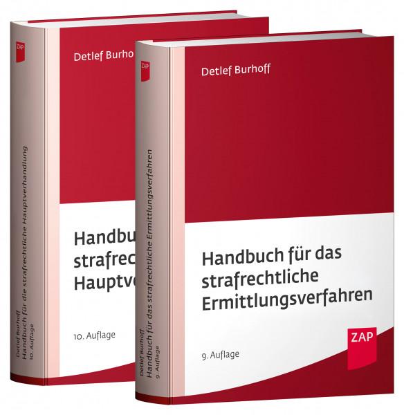 Paket Handbuch für das strafrechtliche Ermittlungsverfahren und Handbuch für die strafrechtliche Hauptverhandlung