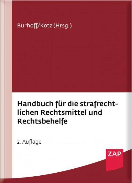 Handbuch für die strafrechtlichen Rechtsmittel und Rechtsbehelfe - Mängelexemplar